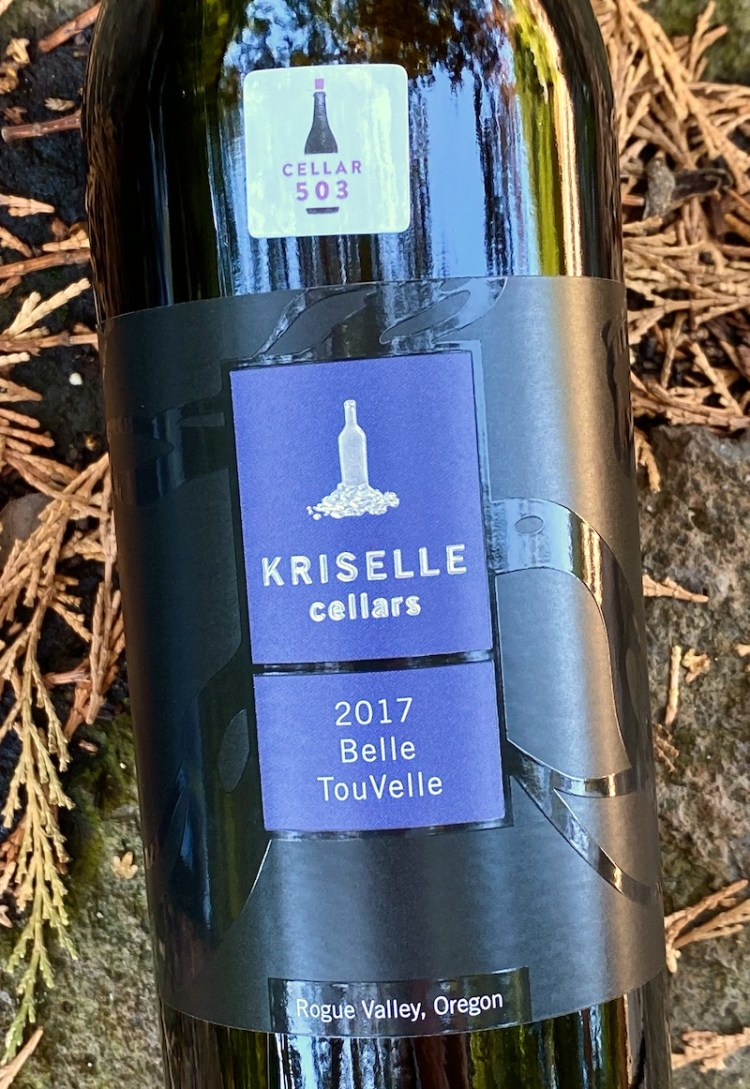 2017 Kriselle Cellars Belle TouVelle, Rogue Valley, Oregon photo