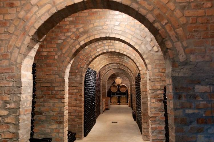 Cap Classique cellar at Charles Fox photo