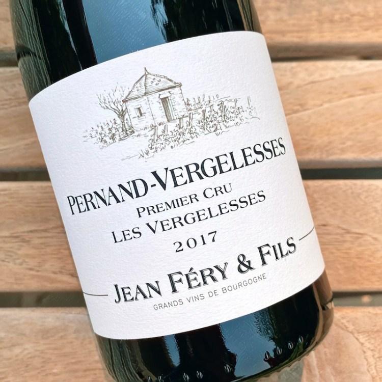 2017 Domaine Jean Féry & Fils, Pernand-Vergelesses Premier Cru, 'Les Vergelesses' photo