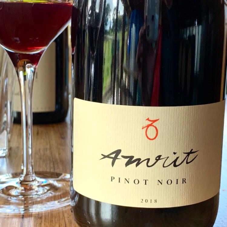 2018 Amrit Pinot Noir photo