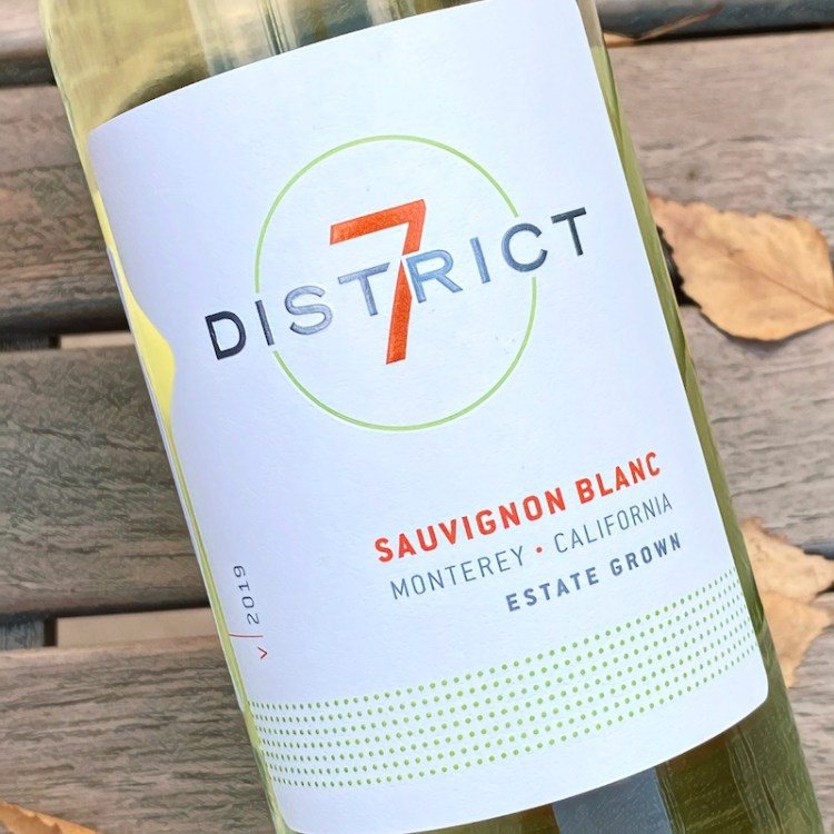 2019 District 7 Sauvignon Blanc, Monterey, California photo