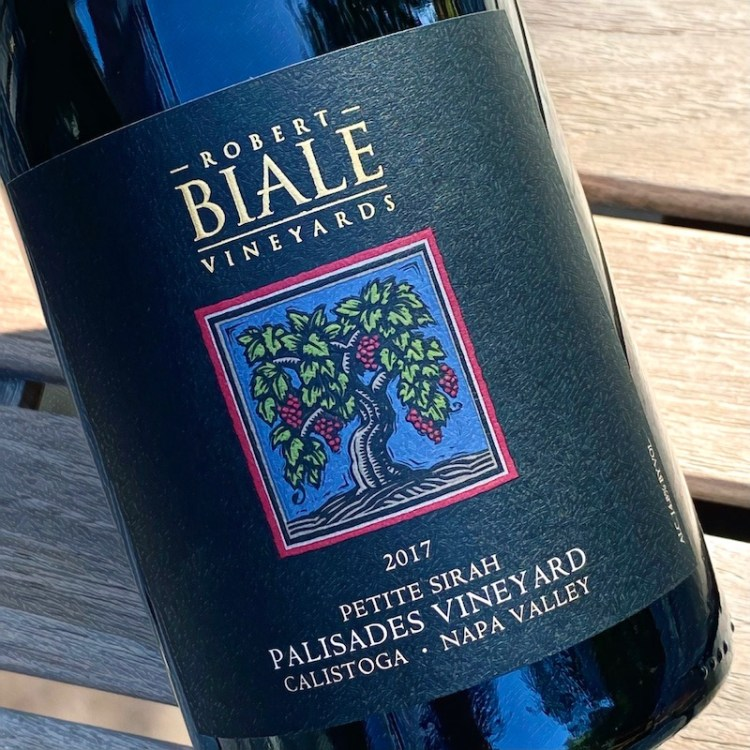 2017 Robert Biale Vineyards Petite Sirah, Palisades Vineyard, Calistoga, Napa Valley photo