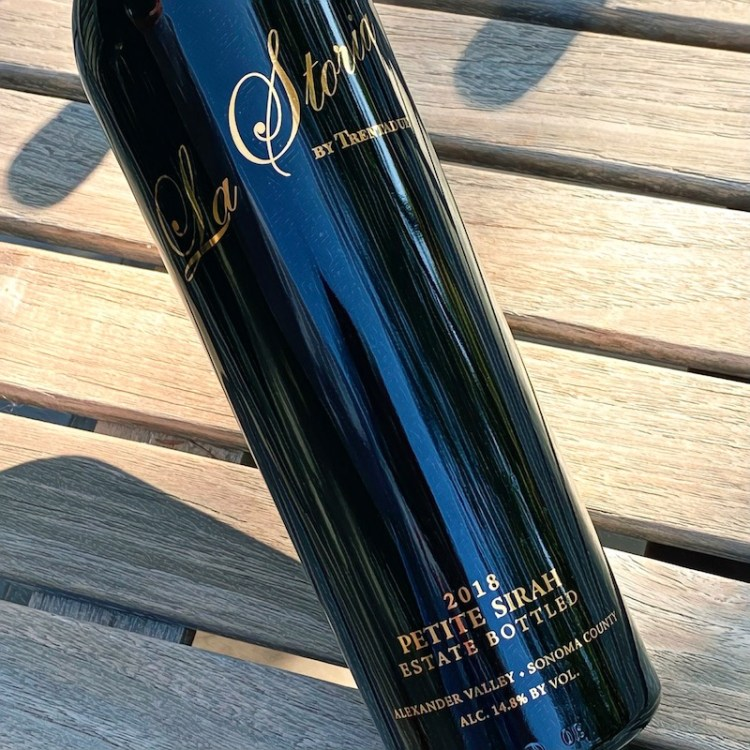 2018 La Storia by Trentadue Petite Sirah, Alexander Valley, Sonoma County photo