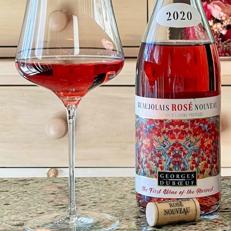 2020 Georges Duboeuf Beaujolais Nouveau Rosé photo