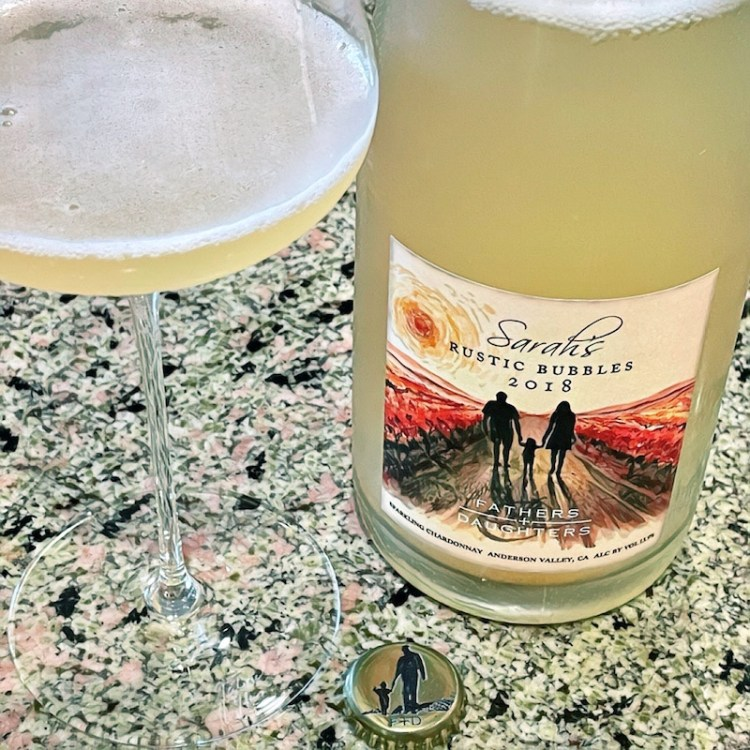 2018 Fathers + Daughters Cellars Sarah's Rustic Bubbles, Anderson Valley photo