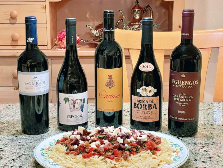 Alentejo red blends paired with Greek Lamb with Orzo photo