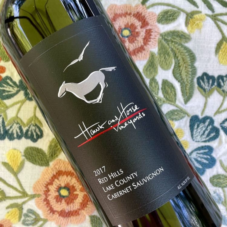 2017 Hawk and Horse Vineyards Cabernet Sauvignon, Red Hills Lake County photo