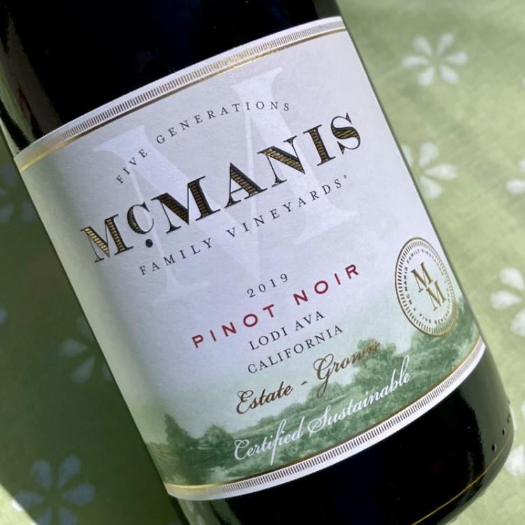 2019 McManis Family Vineyards Pinot Noir, Lodi AVA photo