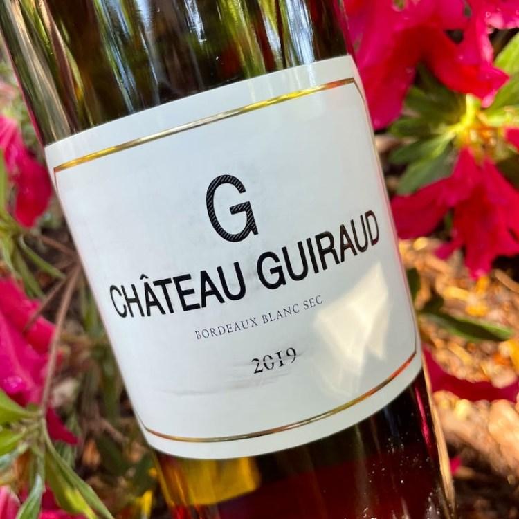 """2019 Château Guiraud """"G"""" Blanc Sec, Bordeaux photo"""