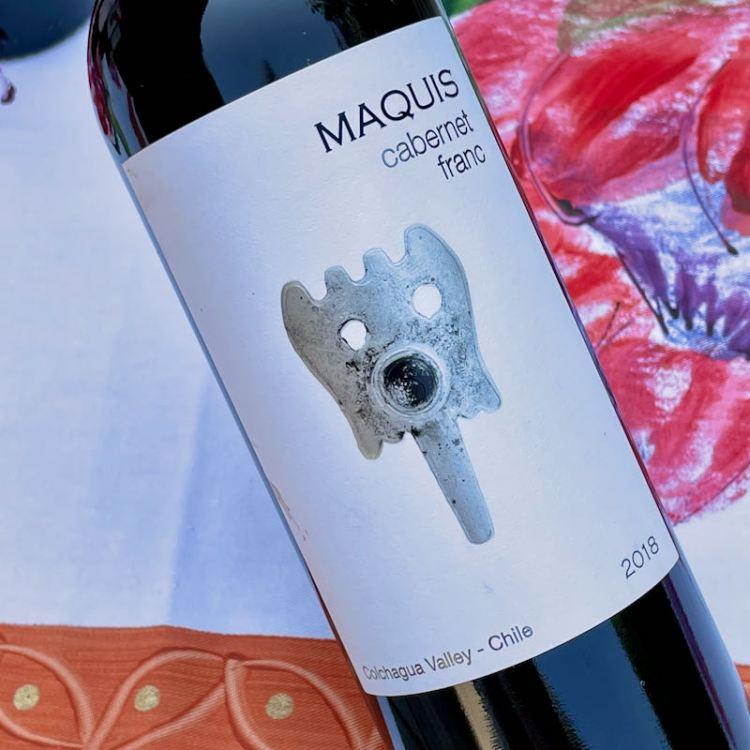 2018 Viña Maquis Maquis Gran Reserva Cabernet Franc, Colchagua Valley, Chile photo