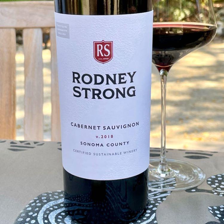 2018 Rodney Strong Cabernet Sauvignon, Sonoma County photo