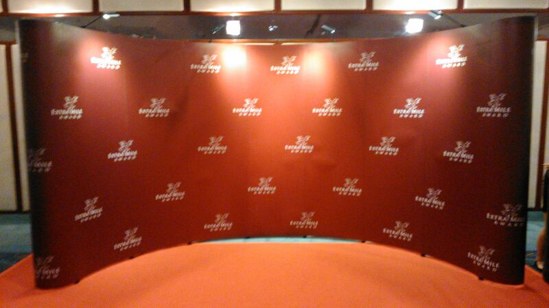 Pop Up Stand Stage Backdrop 2