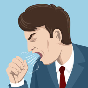 oral steroids and cough