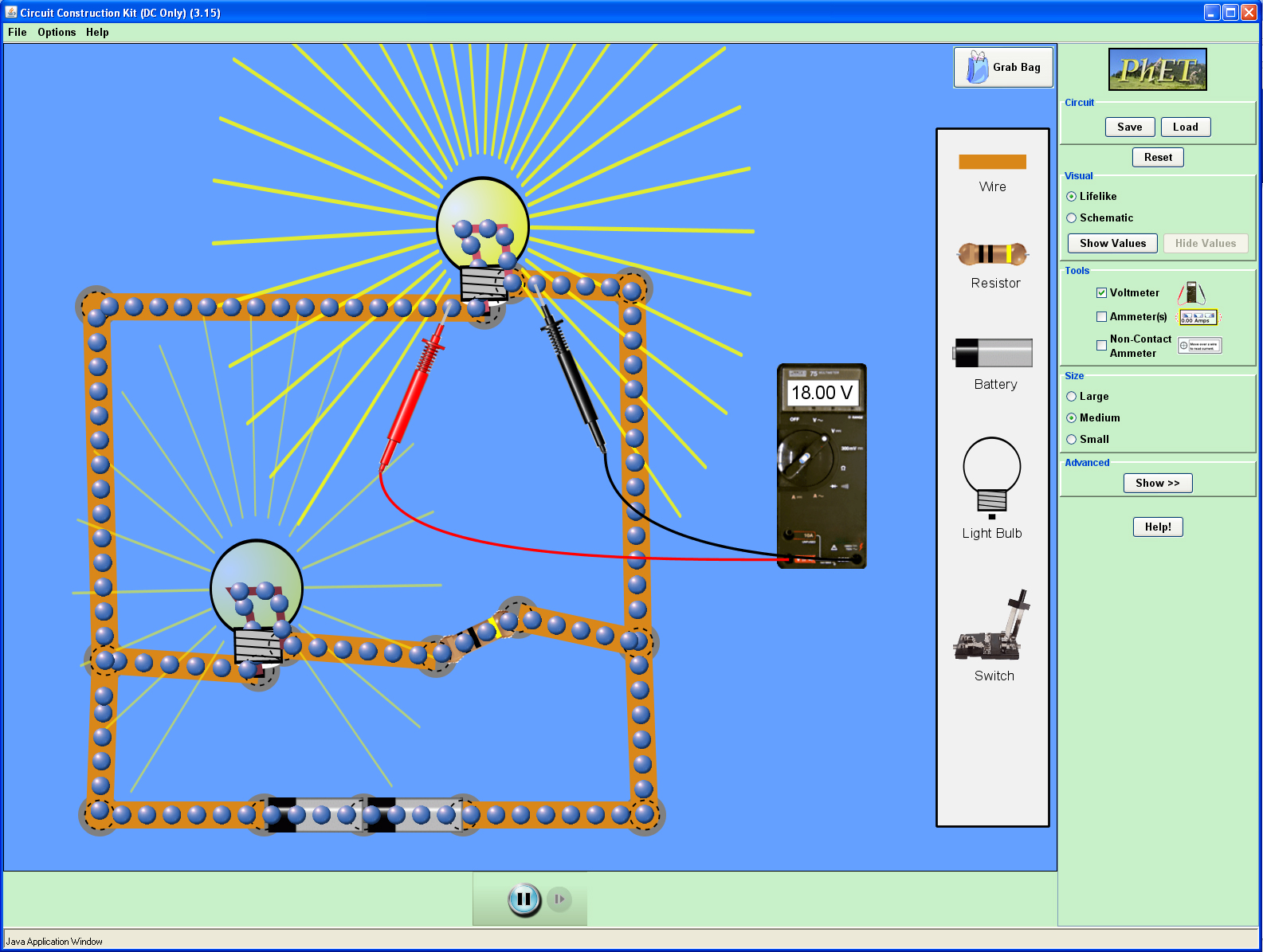 Circuit Construction Kit Answers Biological Science