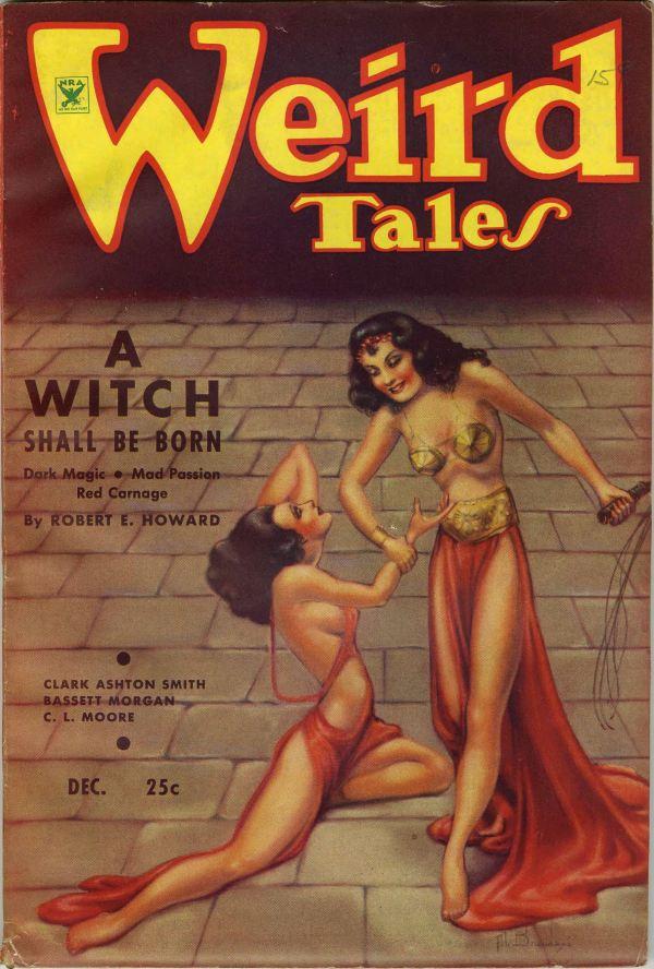 Weird Tales December, 1934