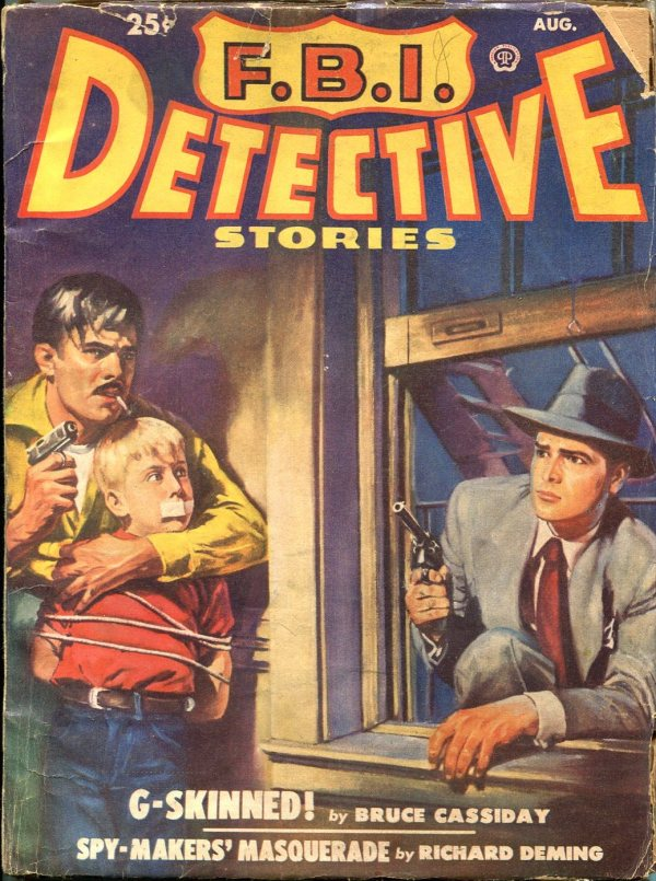 FBI Detective August 1950