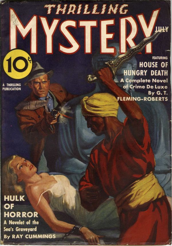 Thrilling Mystery July 1938