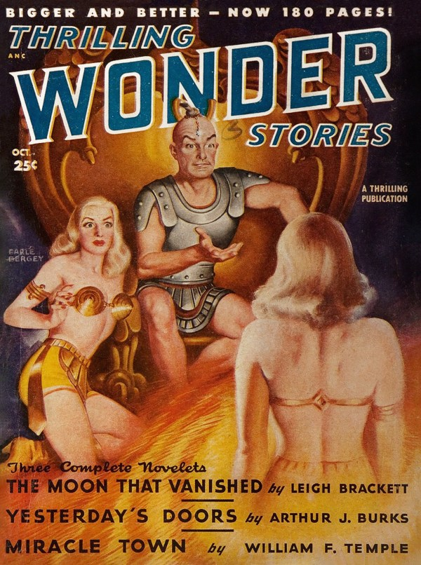 Thrilling Wonder Stories, October 1948