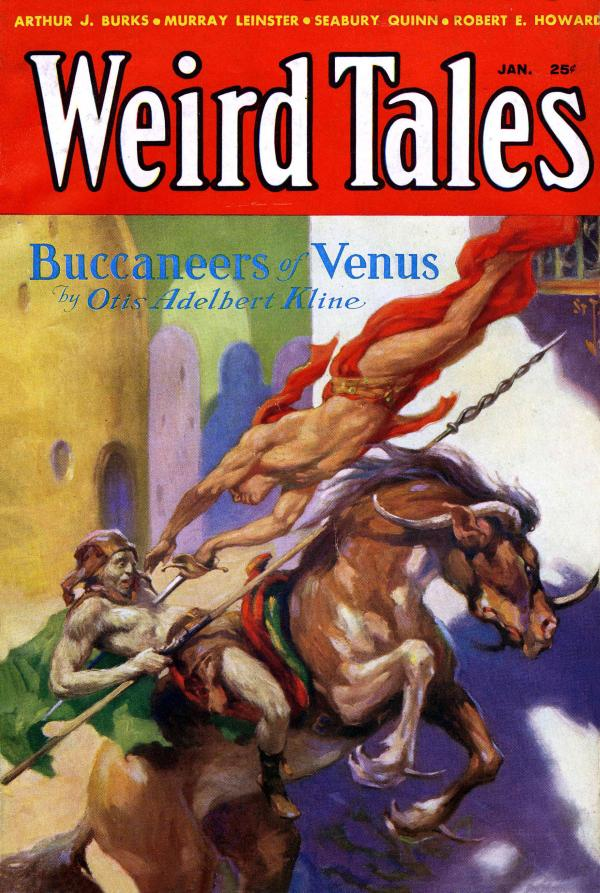 Weird Tales - Jan 1933