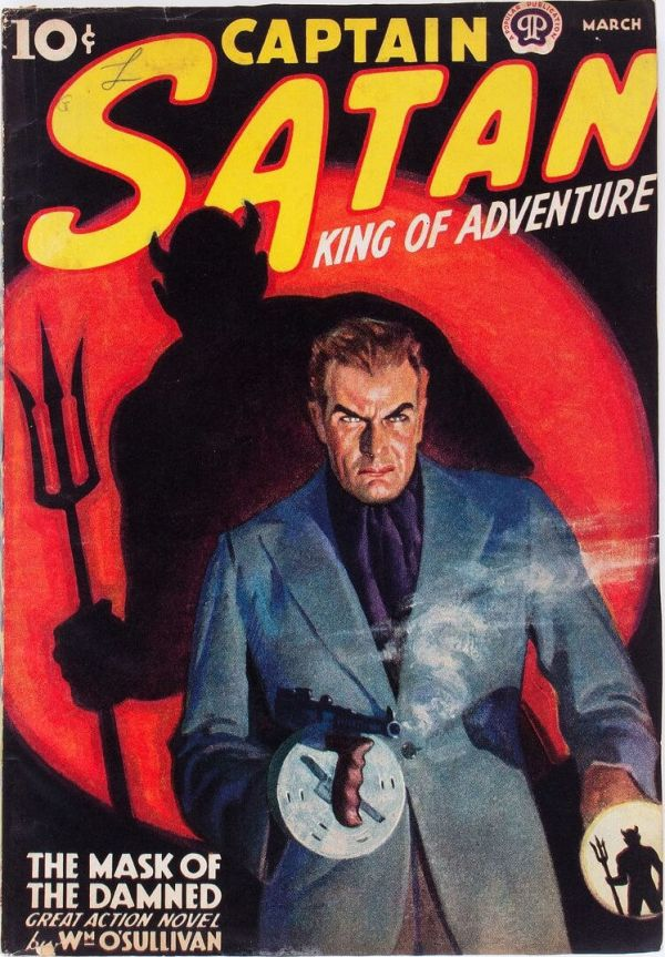 Captain Satan - March 1938