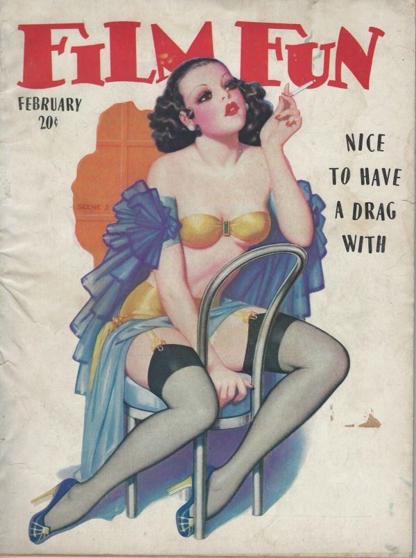 Film Fun February 1937