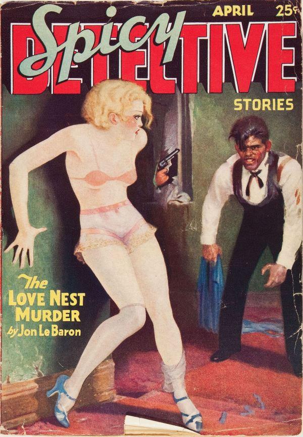 Spicy Detective Stories V1#1 April 1934