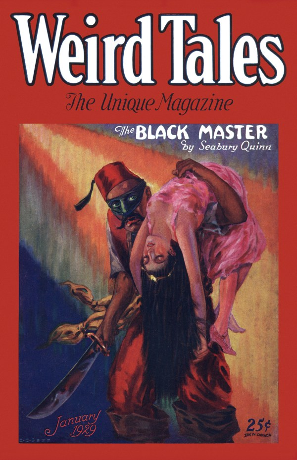 Weird Tales, January 1929