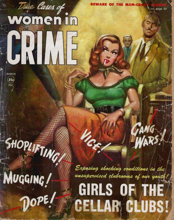 Women In Crime March 1952