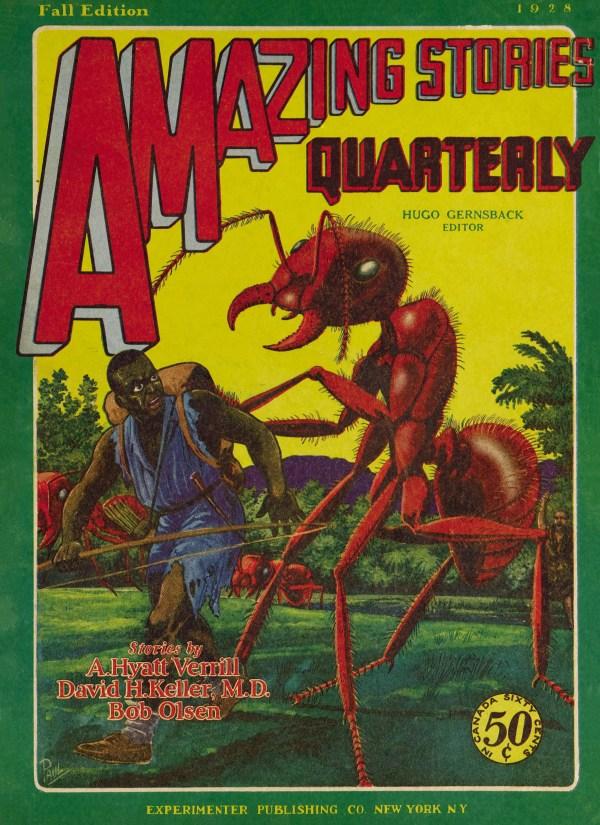 Amazing Stories Quarterly v01 n04 (1928-Fall] cover