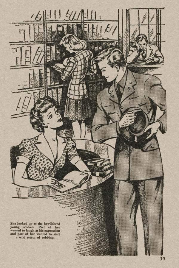 New Love March 1943 - p.55