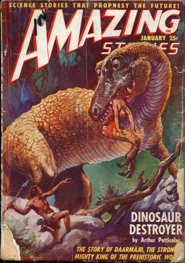 Amazing Stories January 1949