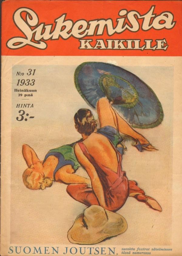 1933 #31 LUKEMISTA KAIKILLE