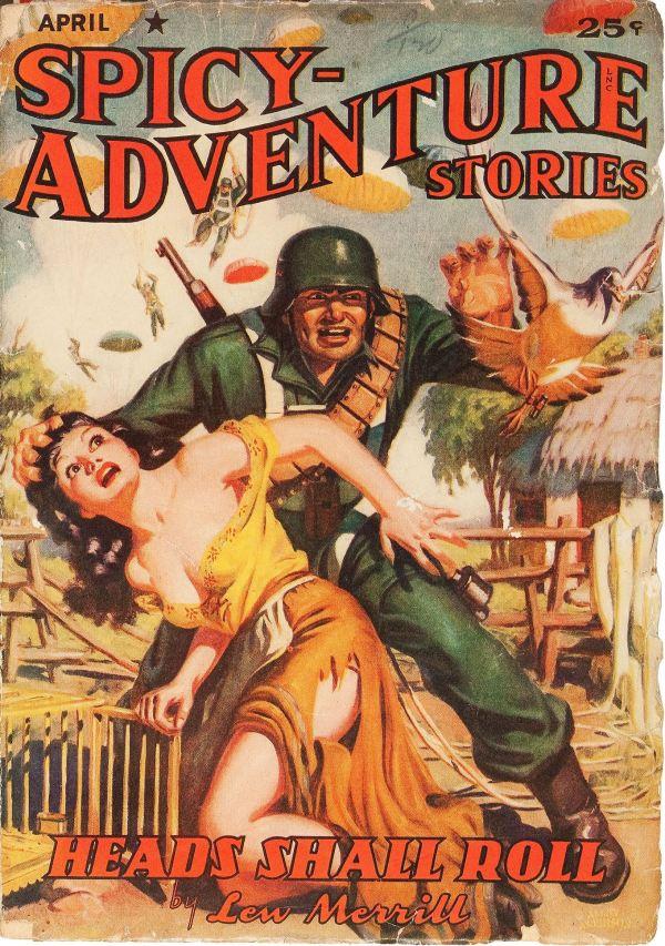 Spicy Adventure Stories April 1942