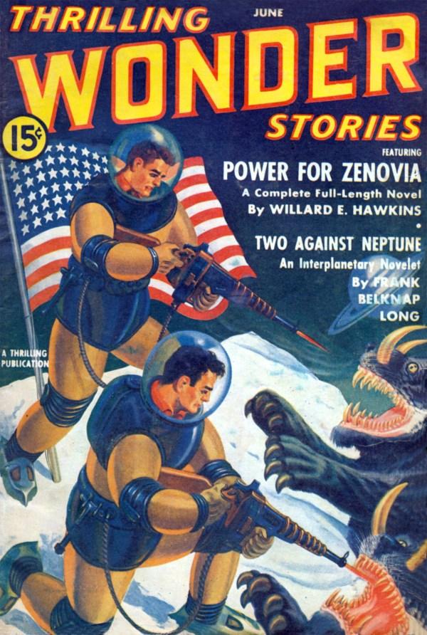 Thrilling Wonder Stories June 1941