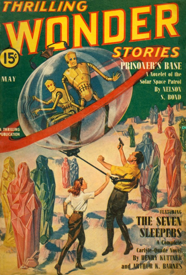 Thrilling Wonder Stories May 1940