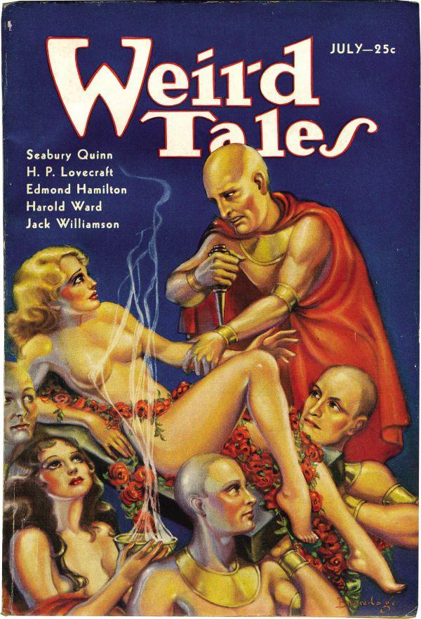 Weird Tales July 1933
