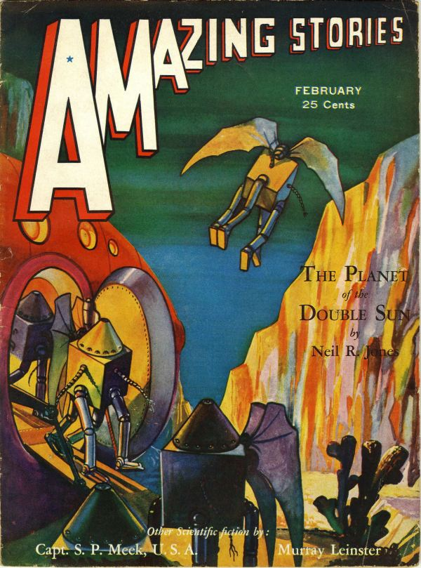 Amazing Stories, February 1932