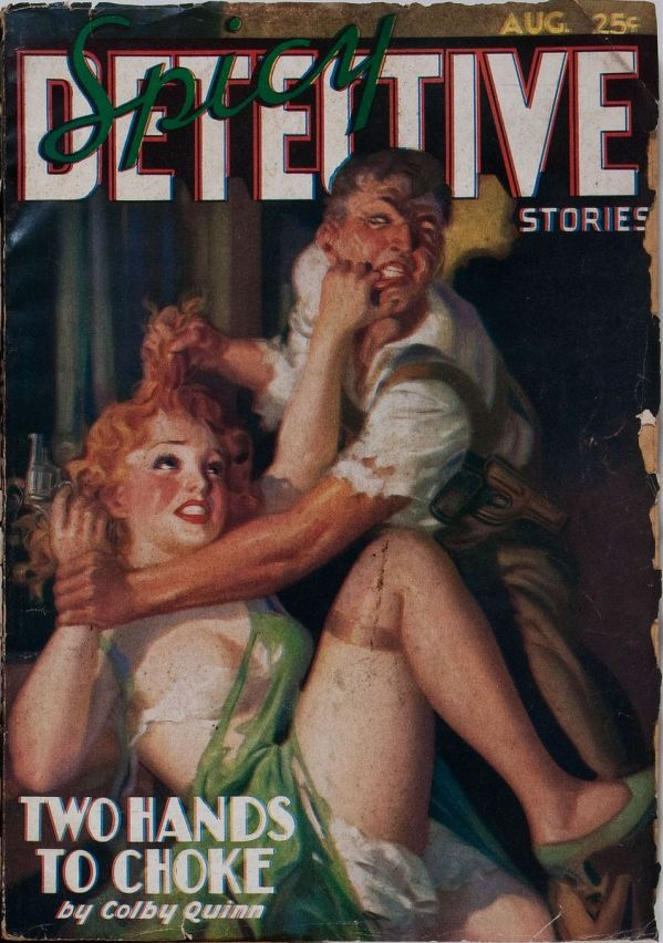 Spicy Detective Stories August 1936