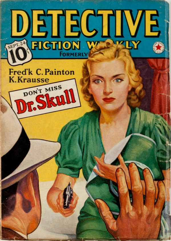 DETECTIVE FICTION WEEKLY September 24, 1938