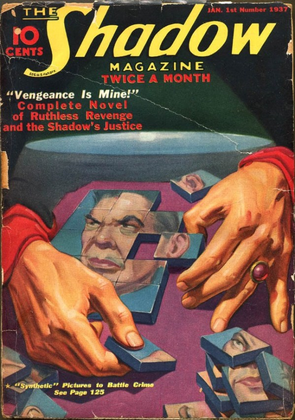 THE SHADOW MAGAZINE Jan 1, 1937