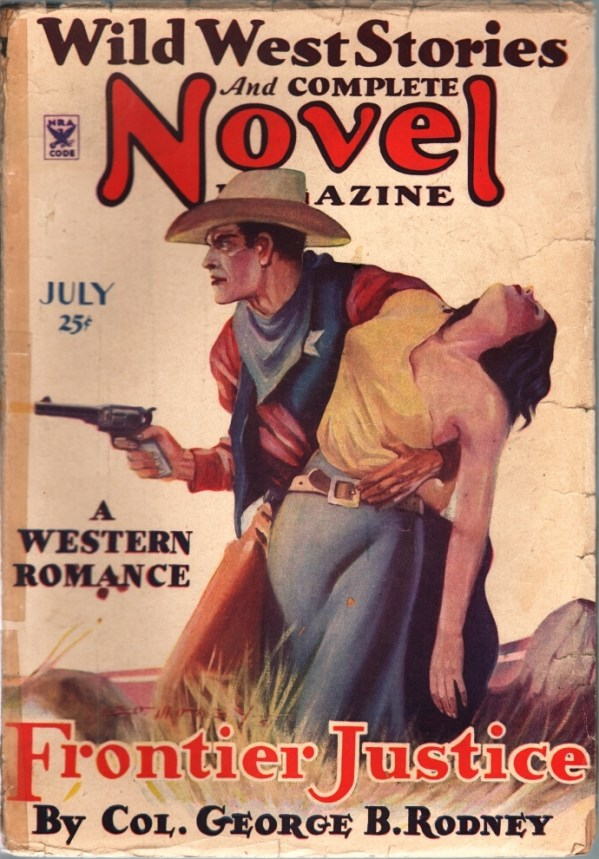 Wild West Stories And Complete Novel Magazine July 1935