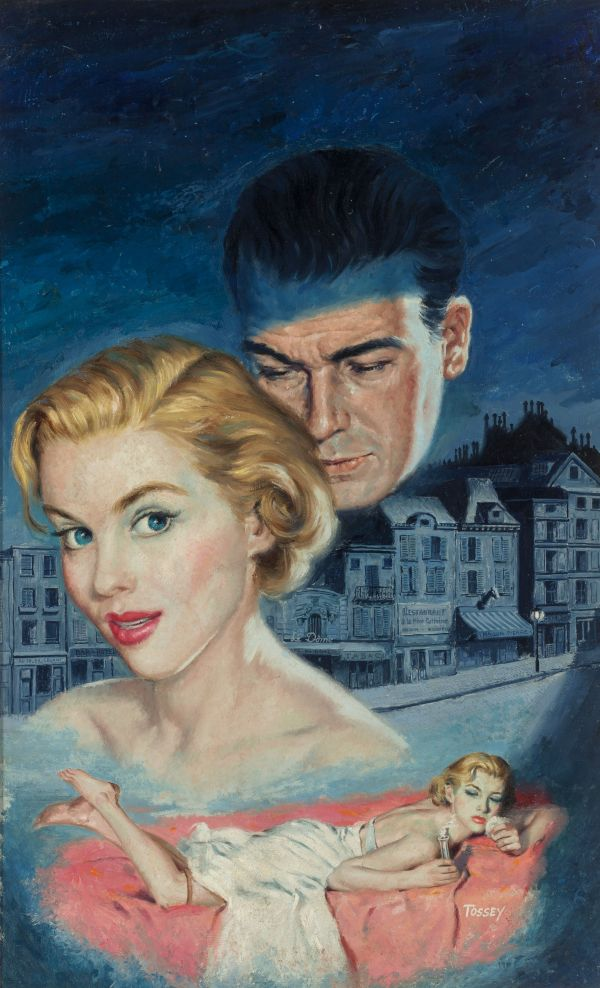 Left Bank of Desire, paperback cover, 1955