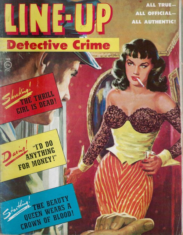 Line Up Detective February 1952