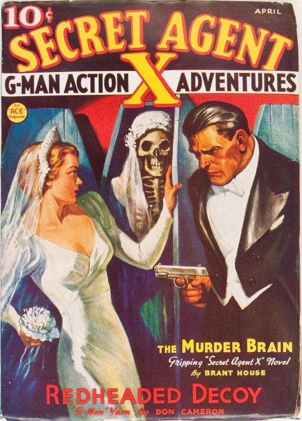 Secret Agent X - April 1937