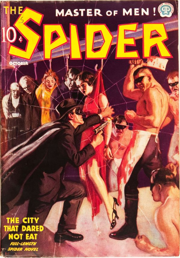 The Spider October 1937