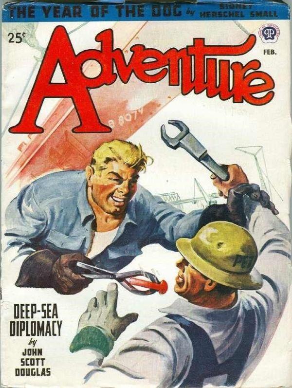 Adventure, February 1947