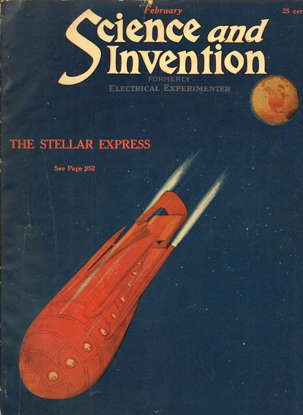 Science and Invention Feb 1923