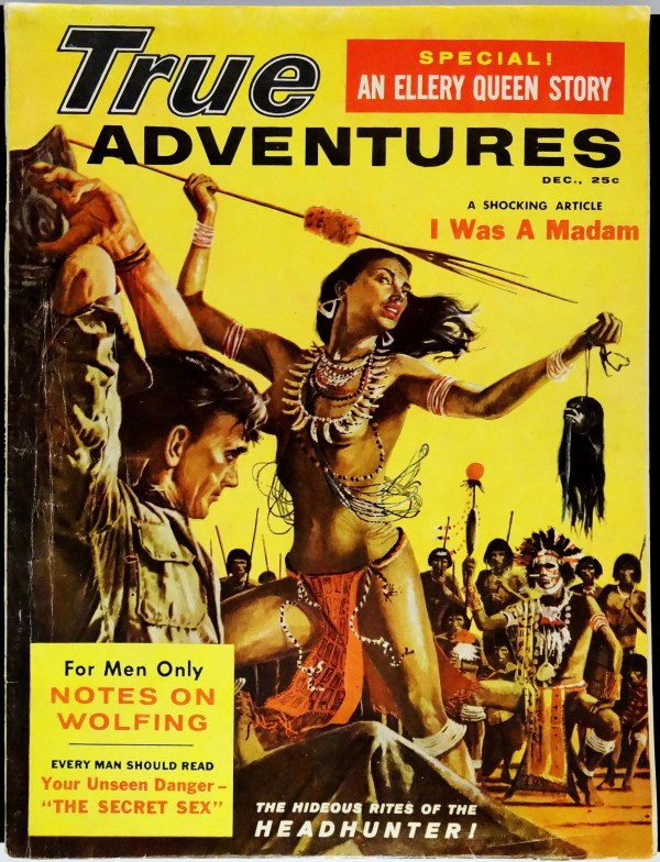 True Adventures (Dec., 1958). Cover Art by John Styga