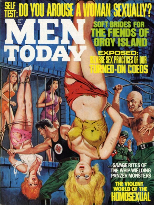 MEN TODAY - 1971 05 May - cover by Bruce Minney-8x6