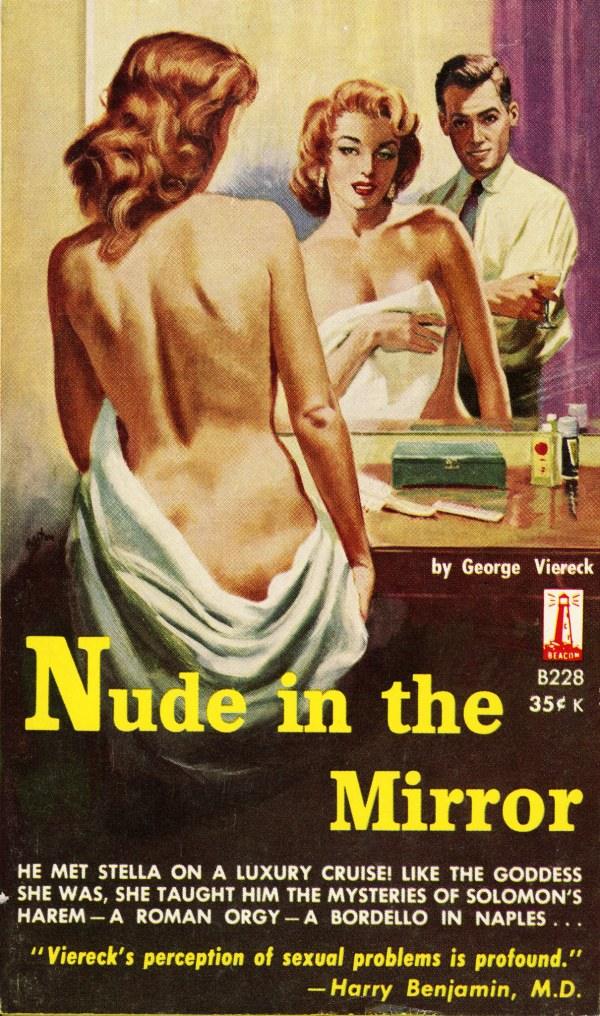 Beacon Books B228 - George Viereck - Nude in the Mirror
